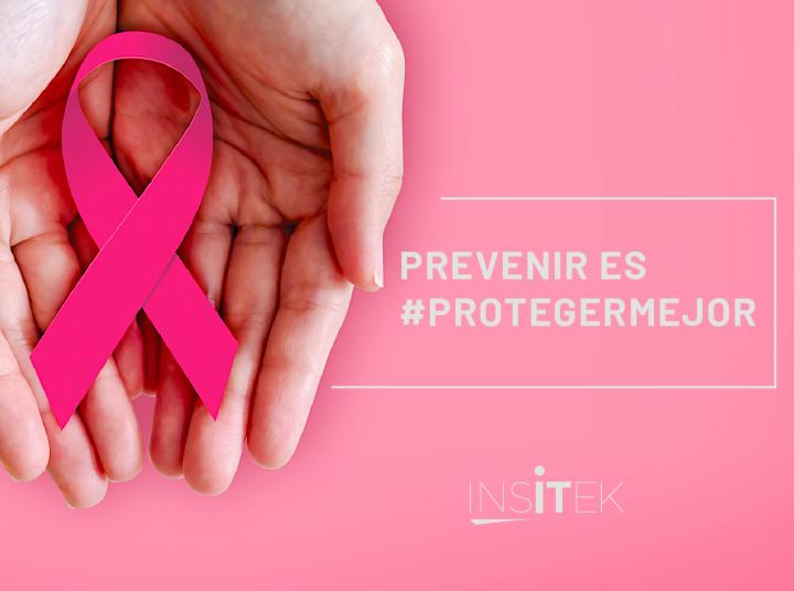 Día mundial contra el cáncer de mama.