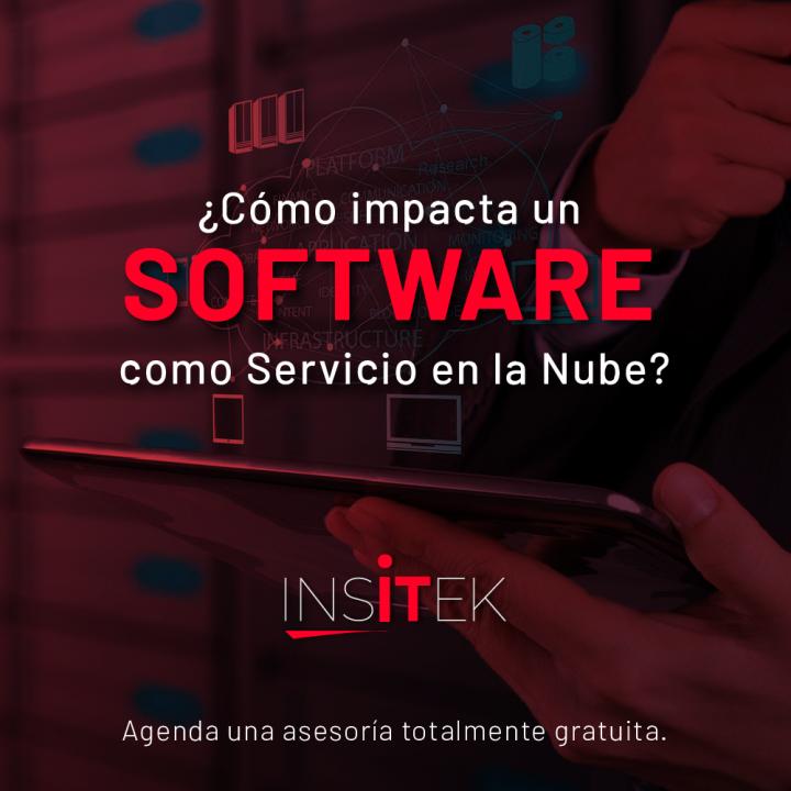 ¿Cómo impacta un software como servicio en la nube?